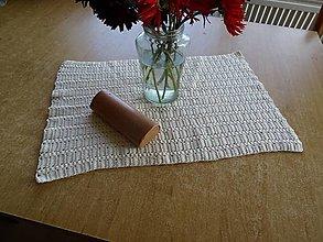 Úžitkový textil - Háčkovaná dečka obdĺžníková 2 - 13784392_