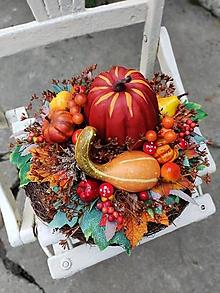 Dekorácie - Jesenná dekorácia - 13787207_