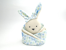 Hračky - RECY-UPCY mojkadlá pre najmenších (Zajačik s kvetinkami) - 13787144_