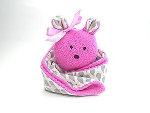 Hračky - RECY-UPCY mojkadlá pre najmenších (Medvedík s kvapkami) - 13787179_