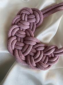 Náhrdelníky - Lila uzel - náhrdelník - 13788797_