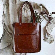 Kabelky - Vera style (čokoládová hnedá) - 13790936_