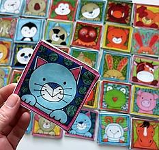 Hračky - Textilné pexeso  (Veľká komplet troj sada) - 13789519_