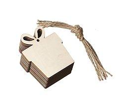 Polotovary - VY167 Výrez vianočný na ďalšie dotvorenie 8 cm (darček) - 13792228_