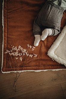 Textil - Hrubá merino deka - 13788949_