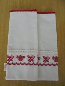 Úžitkový textil - Ľanové vrecko - 13789620_