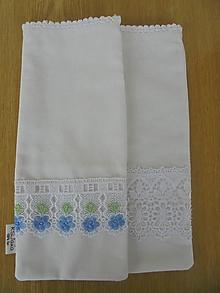 Úžitkový textil - Ľanové vrecko - 13789642_