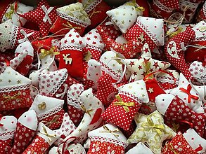 Dekorácie - Vianočné ozdoby ,mix - 13794715_