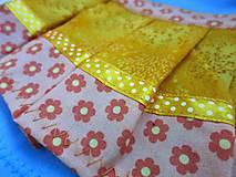 Hračky - Maňuška princezná (v žltokvietkovej sukienke) - 13796076_