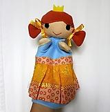 Hračky - Maňuška princezná (v žltokvietkovej sukienke) - 13796077_