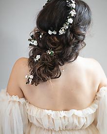 """Ozdoby do vlasov - Kvetinová vlásenka """"súzvuk duší"""" - 13795734_"""