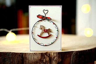 Papiernictvo - pohľadnica Nostalgické Vianoce I. - 13795063_