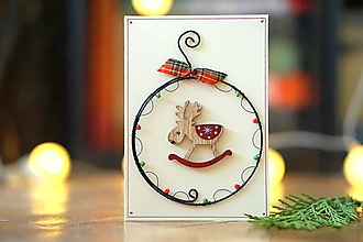 Papiernictvo - Pohľadnica Nostalgické Vianoce II - 13795193_