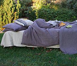 Úžitkový textil - Ľanové obliečky Viktor - 13795517_