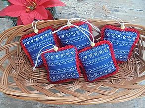Dekorácie - Vianočné ozdoby folk - 13793680_