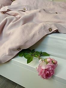 Úžitkový textil - Ľanové obliečky Simply Fresh Pink - 13796666_