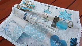 Úžitkový textil - Prestieranie s vianočnym motívom - 13800612_