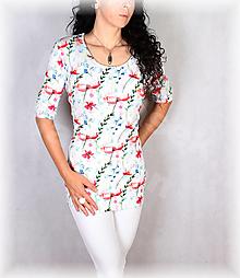 Topy, tričká, tielka - Triko vz.741 i krátký rukáv - 13800169_