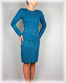 Šaty - Šaty-krásně hřejivý úplet(více barev) - 13800339_