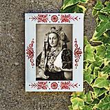 Rámiky - Maľovaný rámček - White Folk - 13800208_