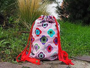 Batohy - Detský vak dAdKa design (Ružová) - 13800005_