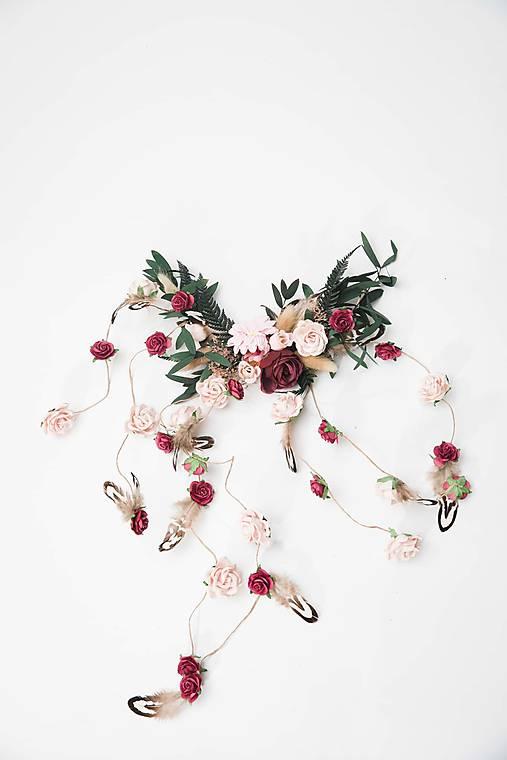"""Kvetinová aplikácia """"pierko vo vetre"""""""