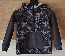 Detské oblečenie - Detská softshellová bunda - 13800392_