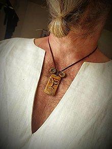 Náhrdelníky -  Pánsky náhrdelník - 13799747_