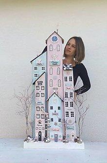 Dekorácie - Zimné domčeky XXL - 13803162_