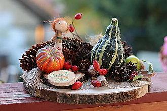 Dekorácie - Jesenná dekorácia - 13804555_