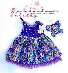 "Detské oblečenie - ""Zimné víly s krídlami"" - rôzne veľkosti - 13802338_"