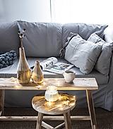 Nábytok - lavica 80 cm  / príručný stolík - 13803524_