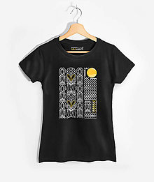 Tričká - Dámske tričko Gold & White – Solis - 13803799_