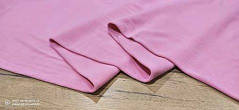 Textil - Flis - cena za 10 cm (Ružová) - 13805973_