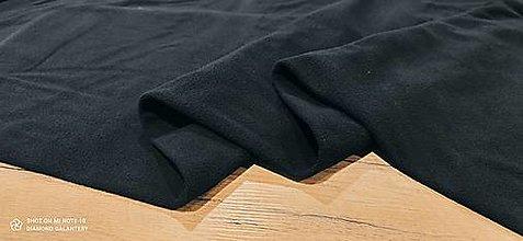 Textil - Flis - cena za 10 cm (Čierna) - 13805982_