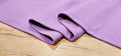 Textil - Flis - cena za 10 cm (Fialová) - 13805995_
