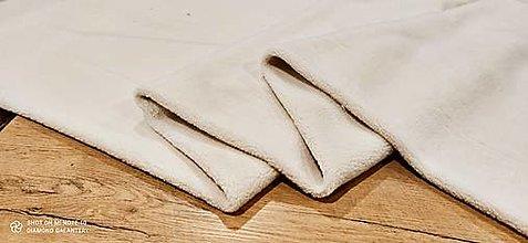 Textil - Látka Baranček - Sherpa (Béžová) - 13806411_