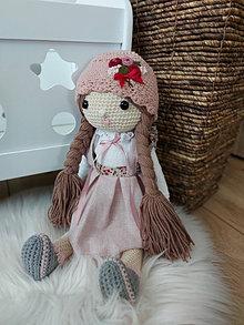Hračky - Háčkovaná bábika - 13805669_
