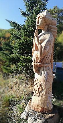Sochy - Veľká socha LADA - 13807100_