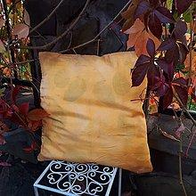 Úžitkový textil - Slnečné bozky- hodvábna obliečka - 13808027_