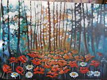 Obrazy - Blízko pri lesíku - 13805671_
