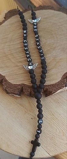 Iné šperky - Prívesok alebo amulet do auta  Privesok na želanie s textom menom alebo dátumom aj farebne podla vašeho priania - 13810574_