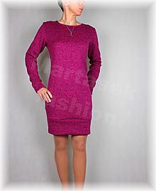 Šaty - Šaty-krásně hřejivý úplet(více barev) - 13808855_