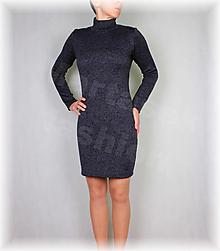 Šaty - Šaty stojáček-krásně hřejivý úplet(více barev) - 13808867_