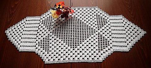 Úžitkový textil - Háčkovaná dečka - 13811530_