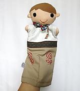 Hračky - Maňuška folk chlapec (Ondrej) - 13810509_
