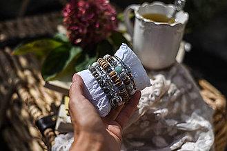 Sady šperkov - Set náramkov na želanie - 13810254_