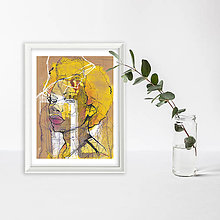 Grafika - I knew you were waiting - fine art print - 13810850_