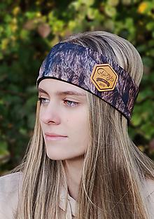 Ozdoby do vlasov - LYNXLYNX - termo čelenka - 13812304_