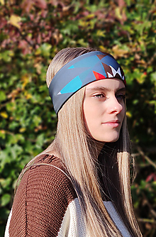 Ozdoby do vlasov - Termo čelenka - AFRICA BAMBATA - 13812401_